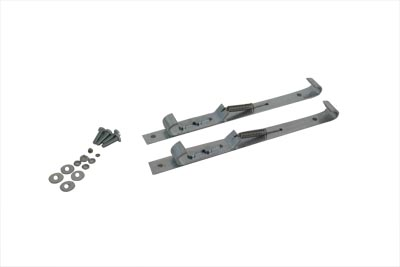 V-Twin 49-2523 - Luggage Rack Pad Mount Clamp Set